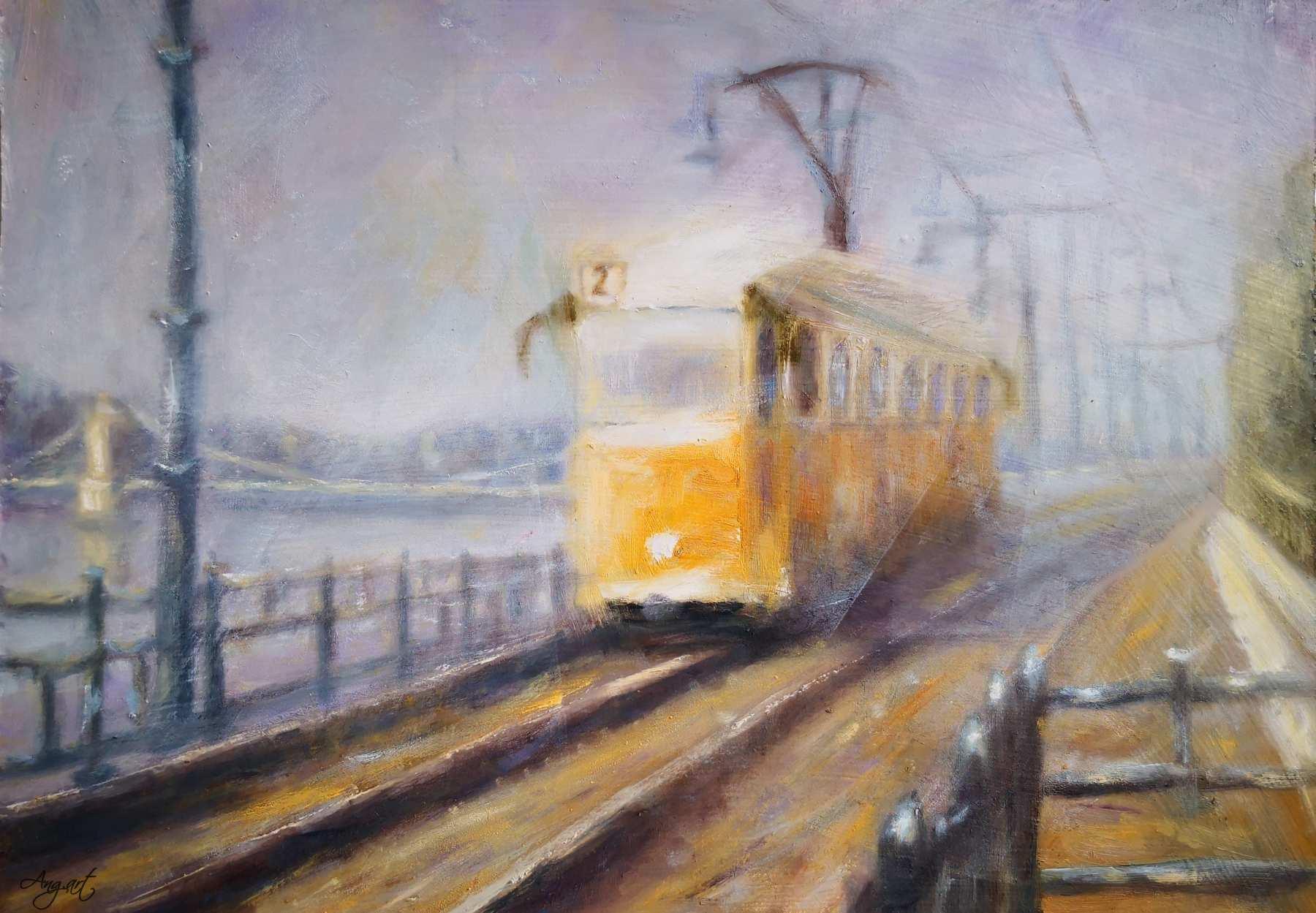 AngelaSuto - Budapest Tram