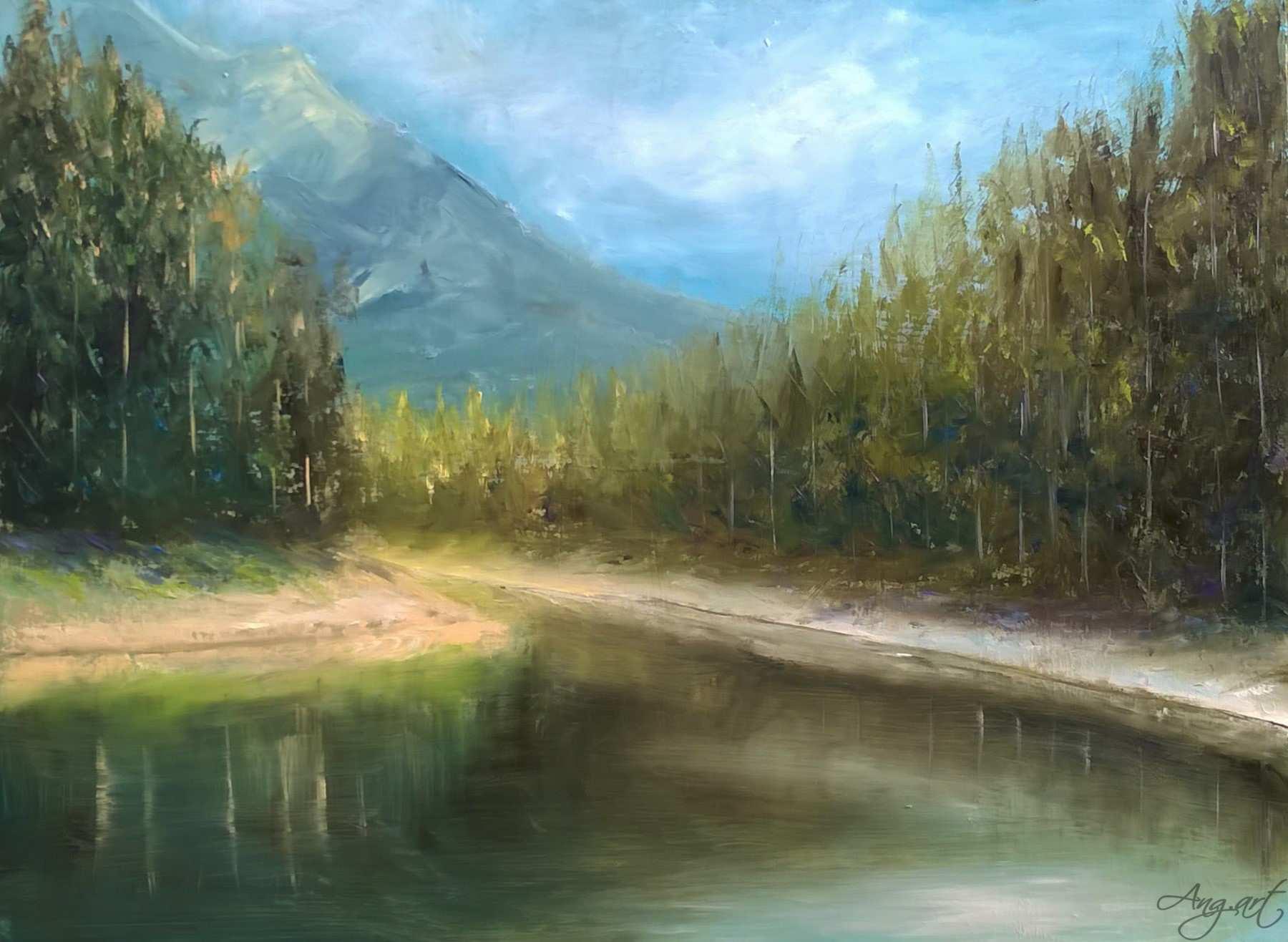 AngelaSuto - Green Lake